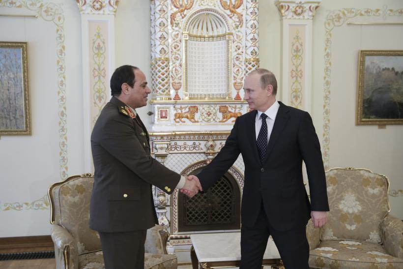 Sisi-Putin meeting Moscow