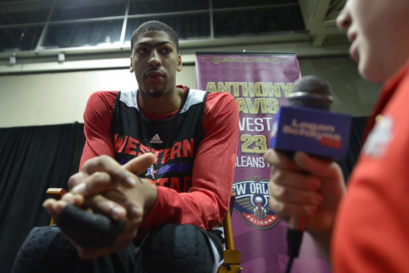 Anthony Davis West All-Star 2014