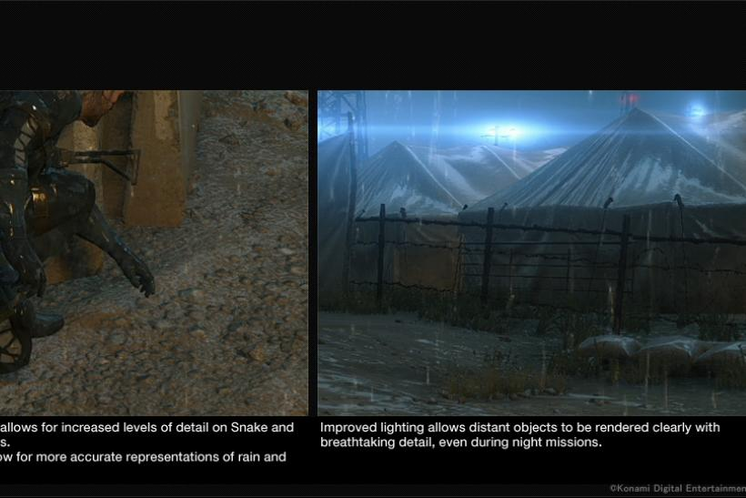 PS4 Metal Gear Solid V resolution