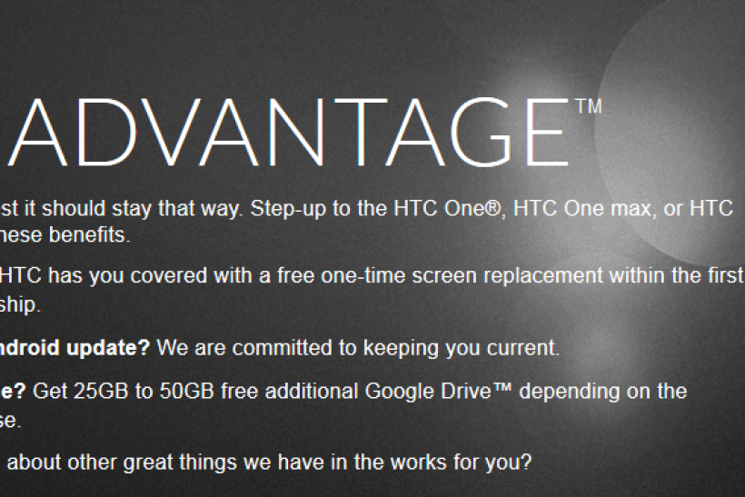 HTC Advantage Brings Attractive Perks For New HTC One, HTC
