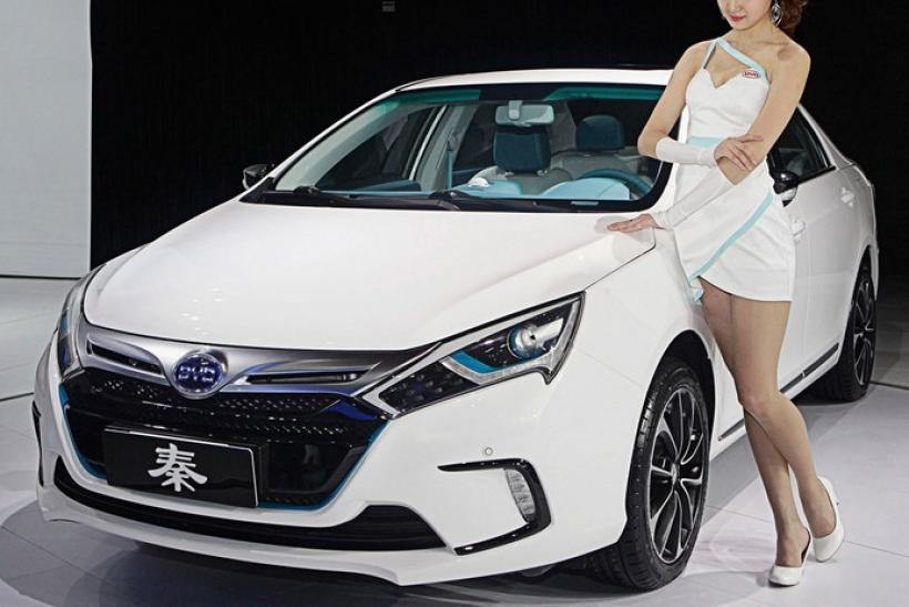 The BYD Qin