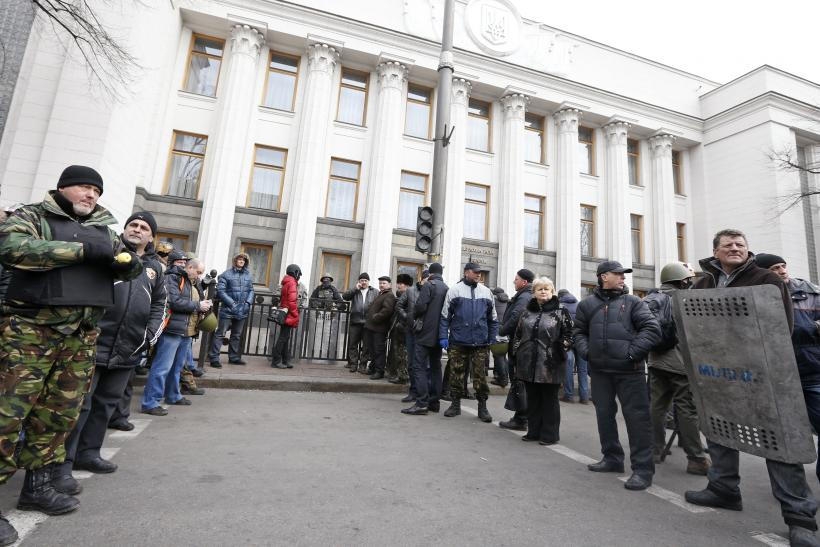 Kiev being guarded