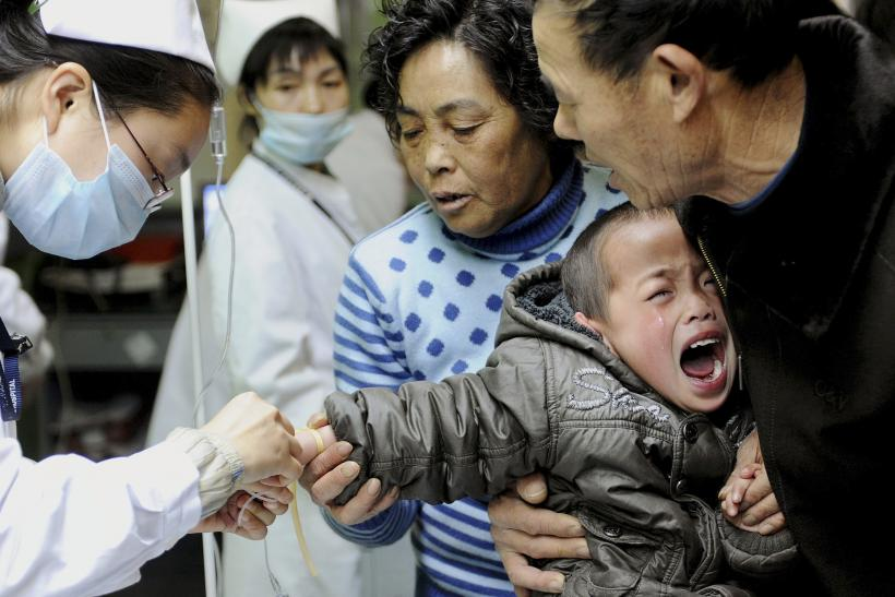Hand foot mouth disease China enterovirus