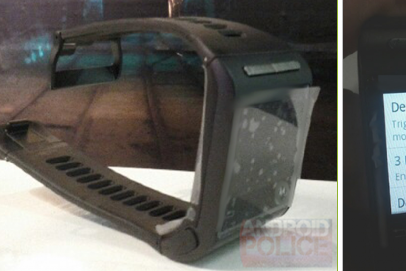 Motorola Google Watch Nexus Gem Prototype Leaked Pictures Release