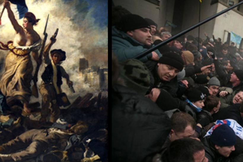 Delacroix and Ukraine