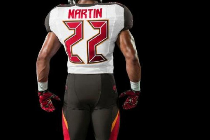 Tampa Buccaneers New Uniforms