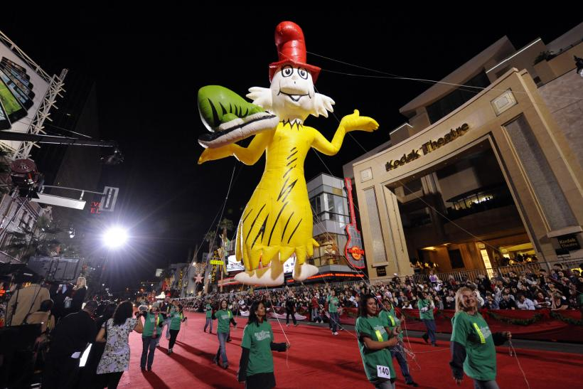 Dr. Seuss character_Hollywood Christmas Parade