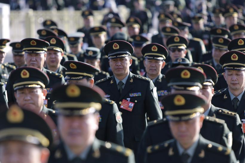 China Decides On Double-Digit Hike For Military Spending ...