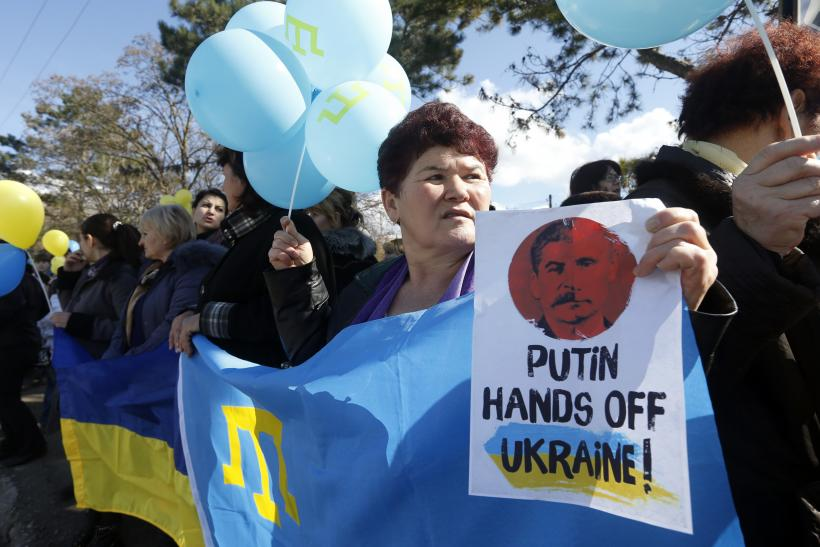 Ukraine Crimea protest 5March2014