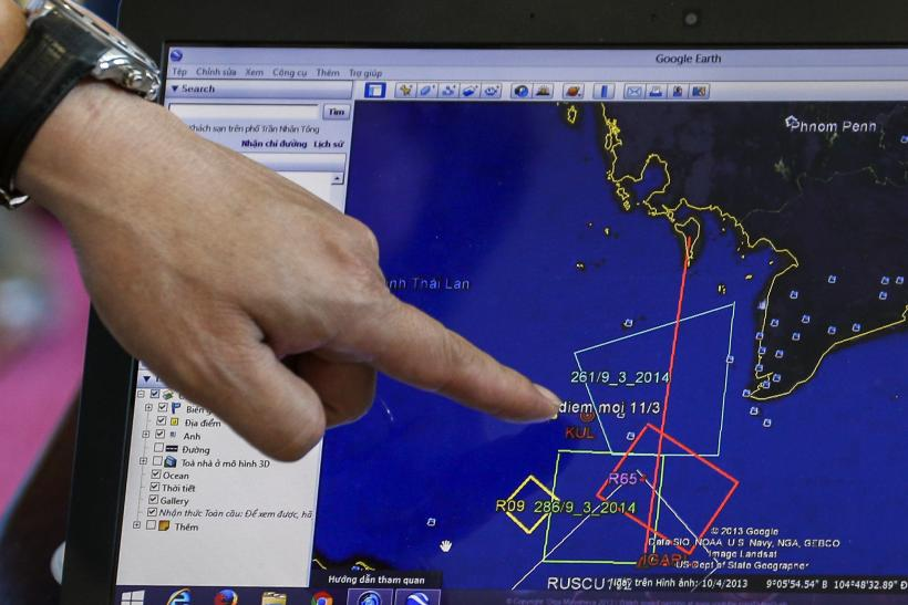 Malaysia Airlines MH370 Search Area