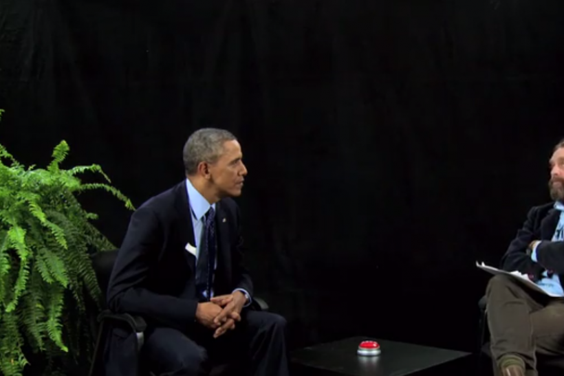 Barack Obama Between Two Ferns
