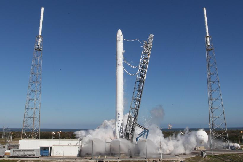 Falcon 9 Static Fire