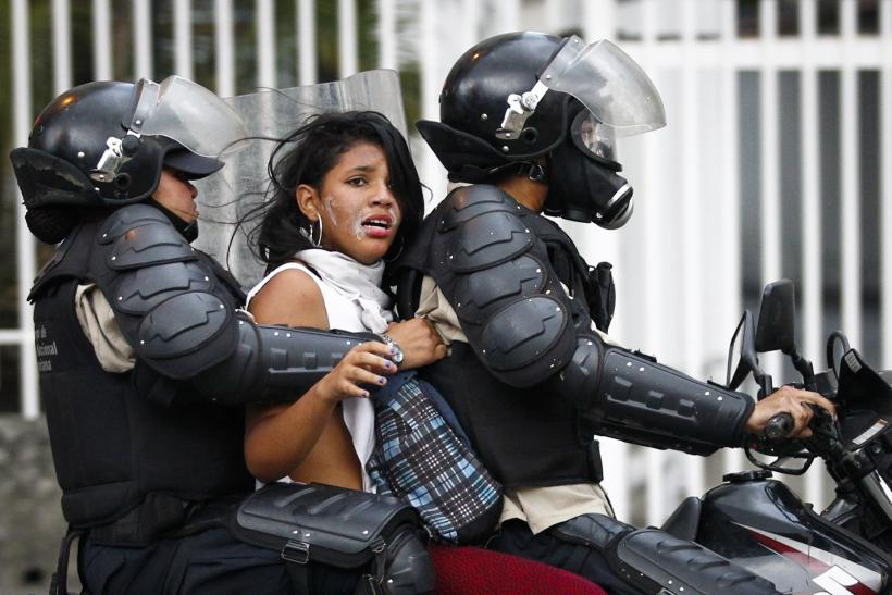 Venezuela Protest Arrest March 13