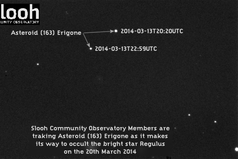 Asteroid Occultation Live Stream: Watch 45-Mile Wide