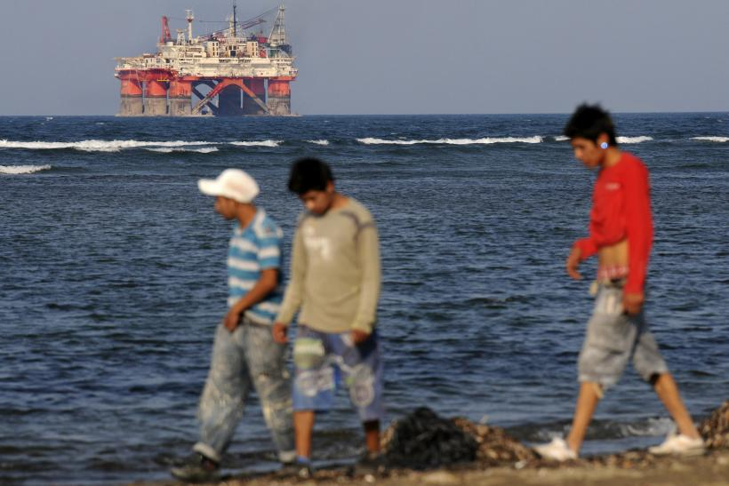 Deepwater oil rigs in Mexico