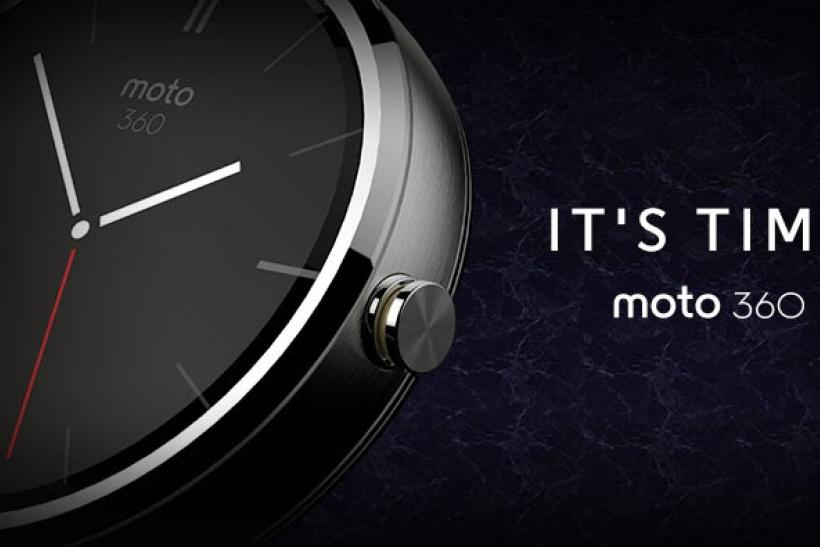 Motorola Moto360 smartwatch android release date