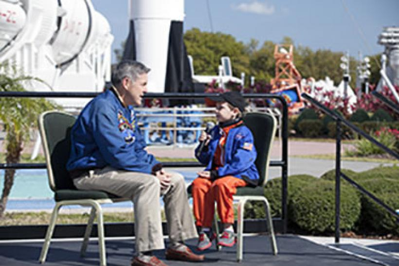 A Six Year Old Works For NASA? [VIDEO]