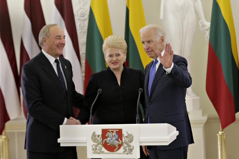 Biden in Lithuania