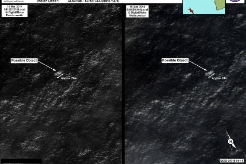 Possible Malaysia Plane Debris Off Australia