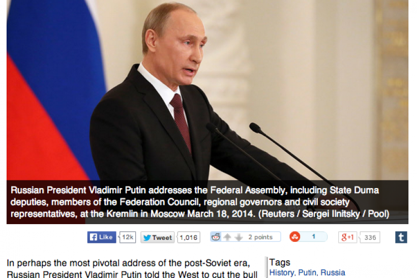Russia Today Drops All Pretense Of Editorial Independence Publishes Pro Putin Propaganda