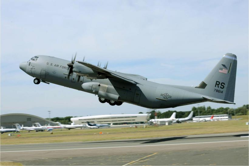 Indian Air Force S Us Made C 130j Plane Crashes During
