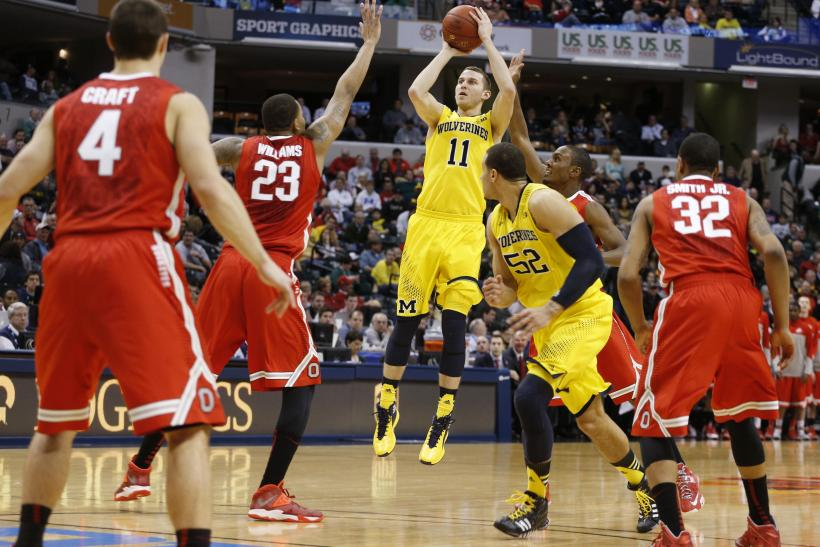 Nik Stauskas Michigan