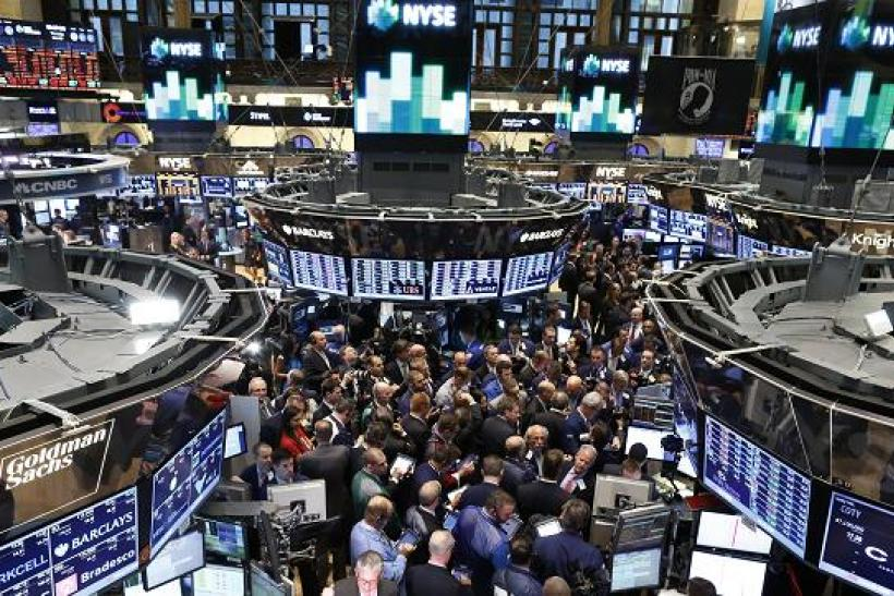 Nyse 2015 Us Stocks Start 2015 With Slight Increase
