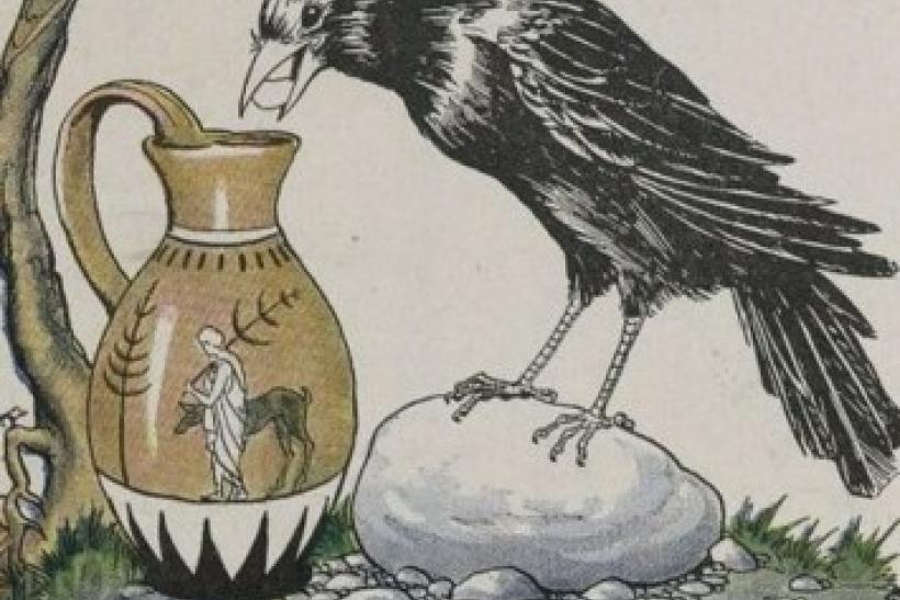 the-crow-and-pitcher