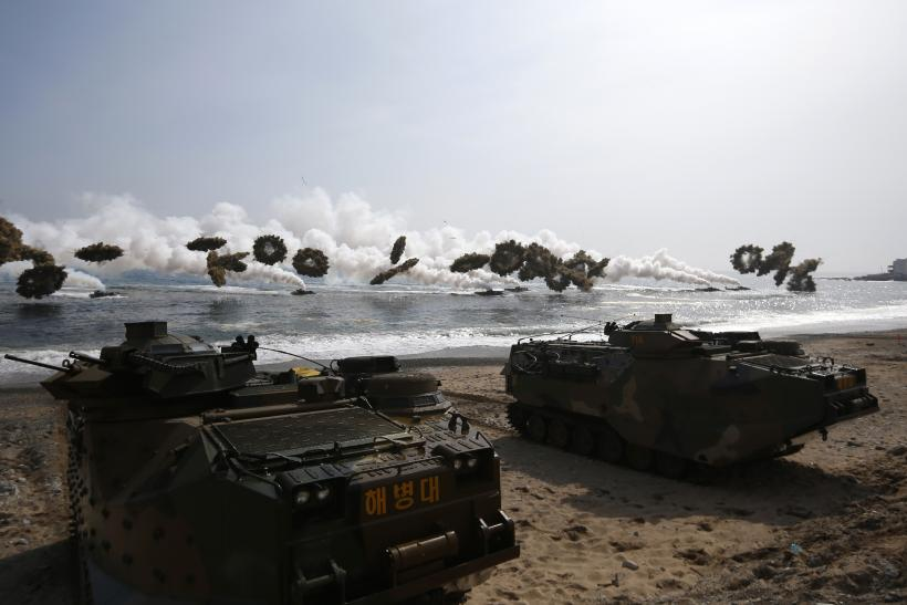 Korea military drills