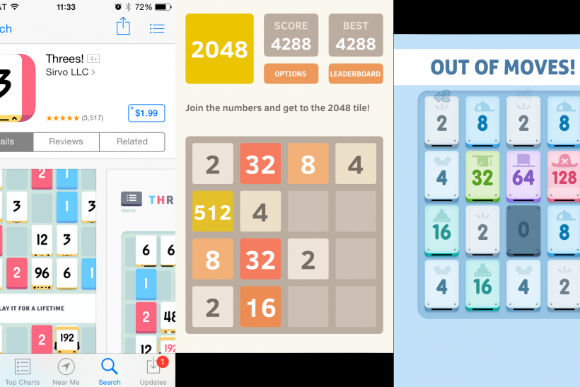 What Is '2048'? The Convoluted Origin Of The 'Threes' And