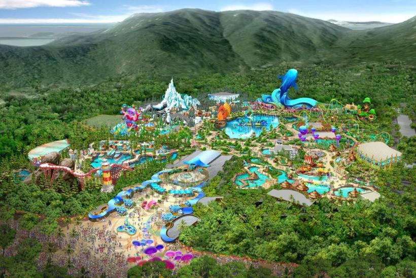 World S Largest Aquarium Ocean Kingdom Opens In The