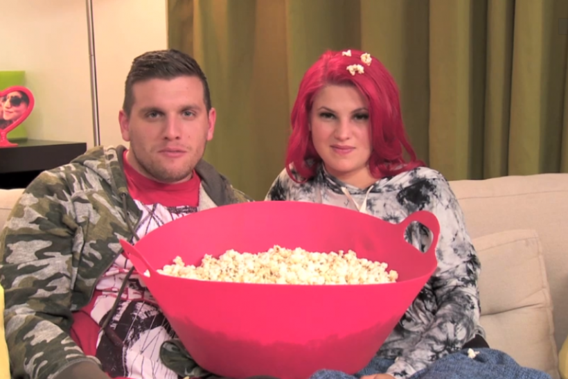 Chris Distefano and Carly Aquilino