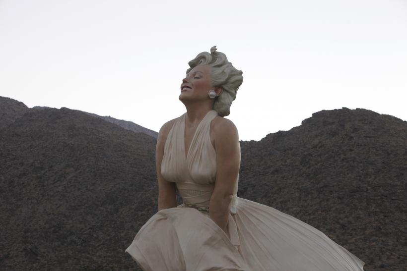 Marilyn Monroe's sculpture