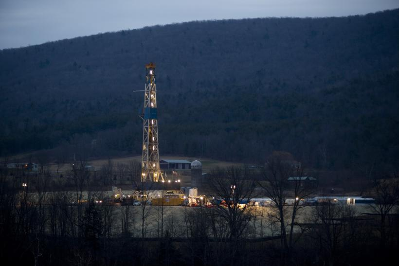 Fracking natural gas Pennsylcania 2012
