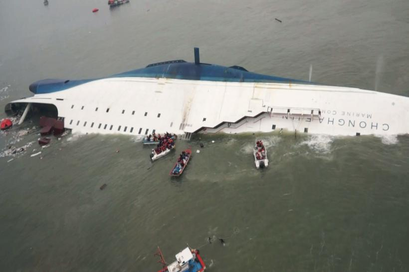 South Korea Ferry - Sewol Sinking