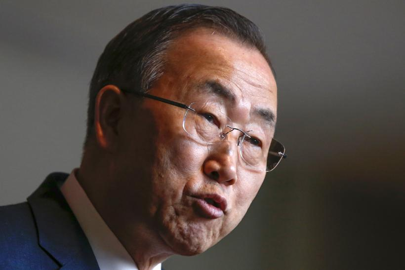 Ban Ki-moon on Syria