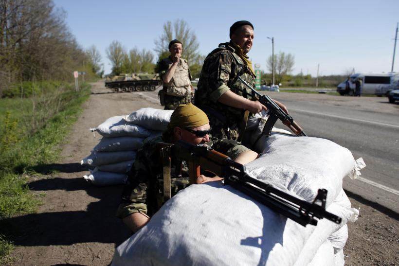 Ukraine checkpoint 24April2014