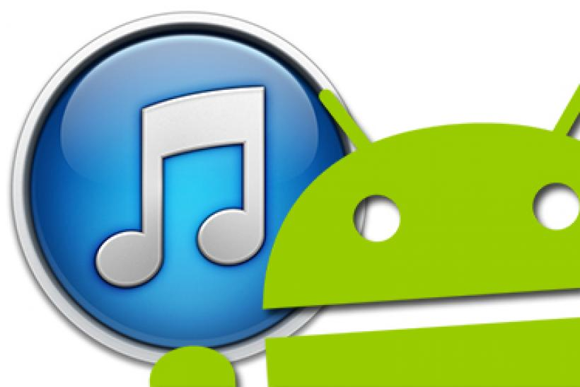 using itunes on android phone