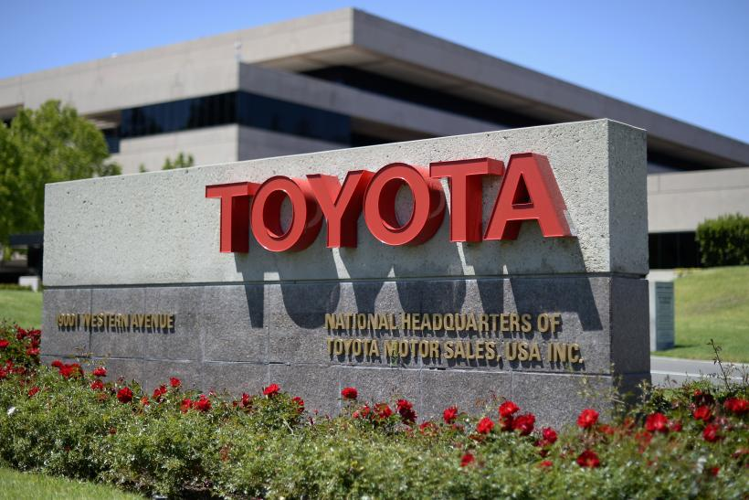 Toyota unit in Torrance, California