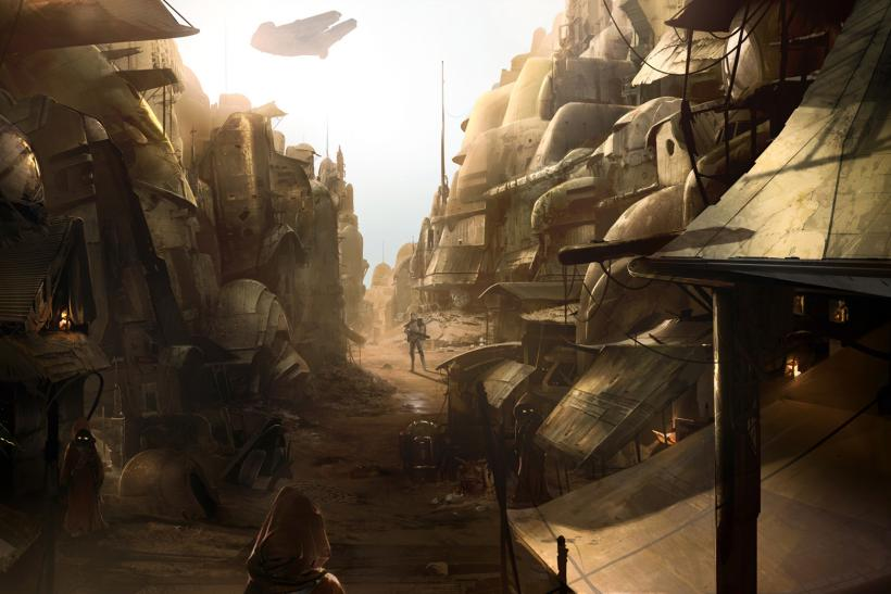 Star Wars 1313 Concept Art 1