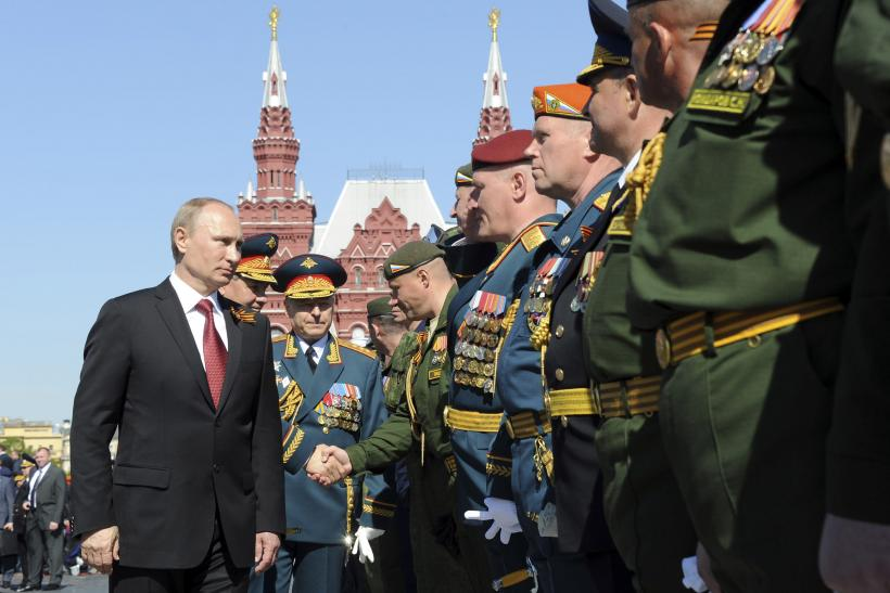 Image result for president putin celebrate victory day moscow