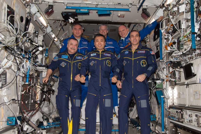 ISS Expedition 39 Crew