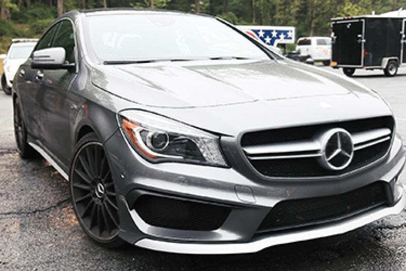 Mercedes Benz CLA45 AMG Review: Entry Level AMG, Non Entry Level Price  [VIDEO]