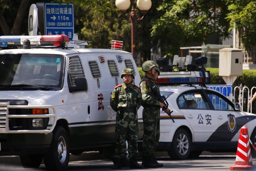 China Anti-Terror security