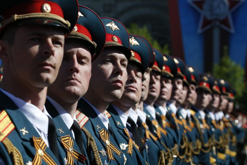 Russian Troops_Victory Day Parade
