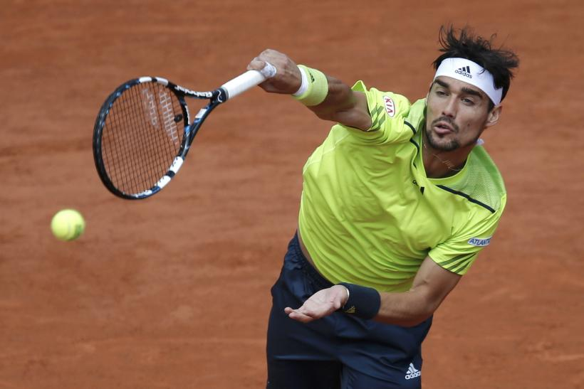 Fabio Fognini 2014 French Open