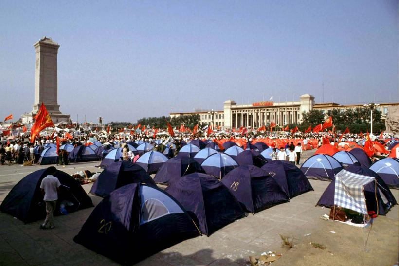 Tiananmen Square Demonstrations_1989