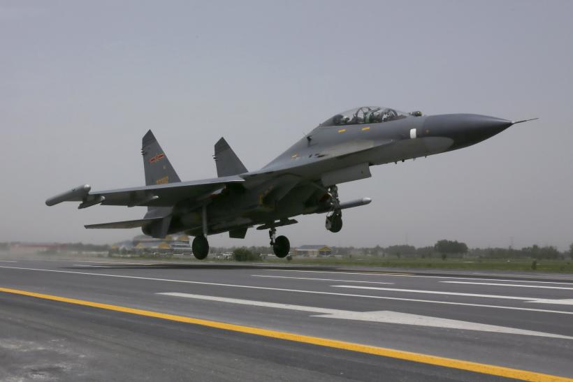 Chinese Military Fighter Jet
