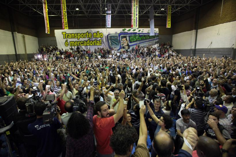 Brazil Transport Strike Ends