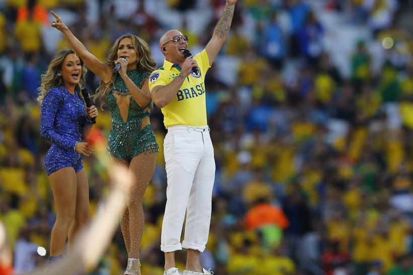 Pitbull Jennifer Lopez 2014 World Cup Opening Ceremony